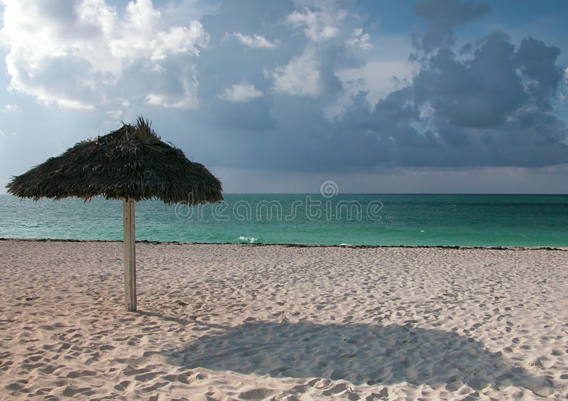 Vista tropical foto de stock