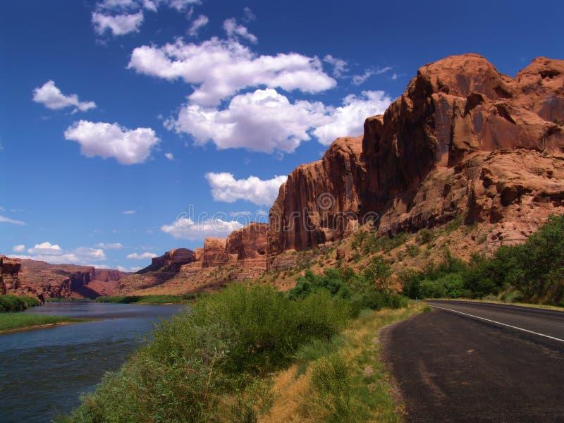 Vista UTAH - S.U.A. di paesaggio immagini stock libere da diritti
