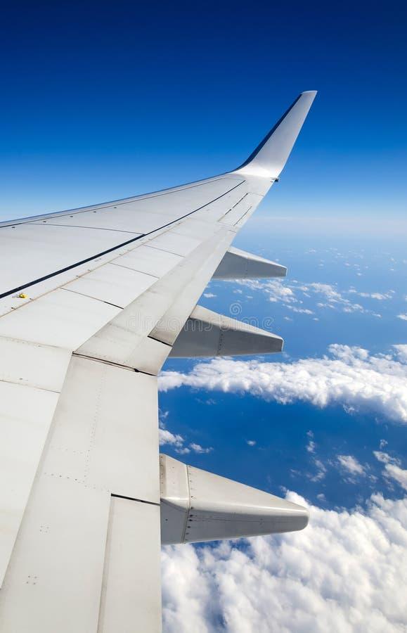 Vista verticale di volo fotografie stock