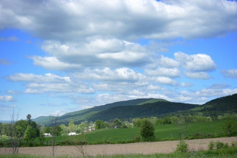 Vista y caminos de Pennsylvania fotos de archivo