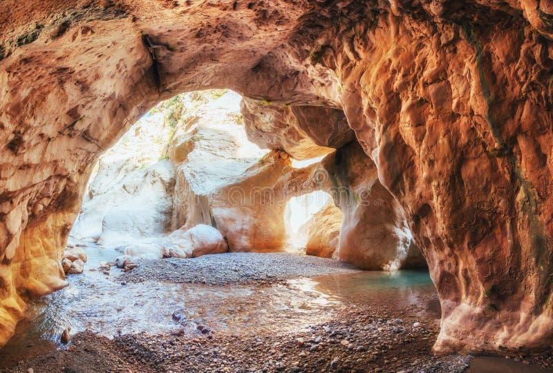 Vistas cênicos da garganta Goynuk em Turquia Montanha bonita foto de stock