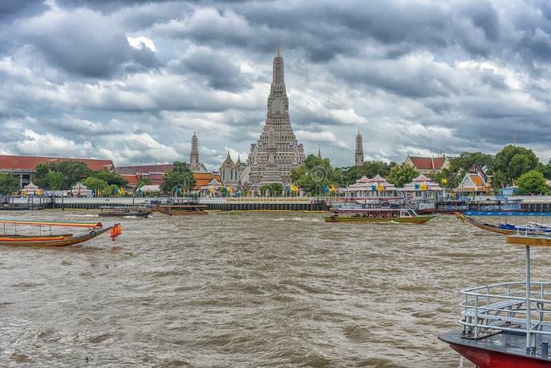 Vistas de Banguecoque do rio imagem de stock royalty free