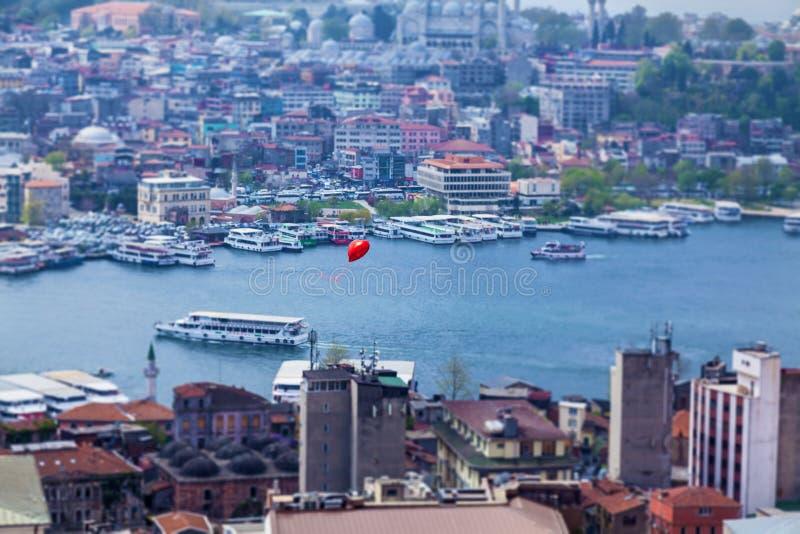 Vistas de la ciudad de Estambul fotos de archivo libres de regalías