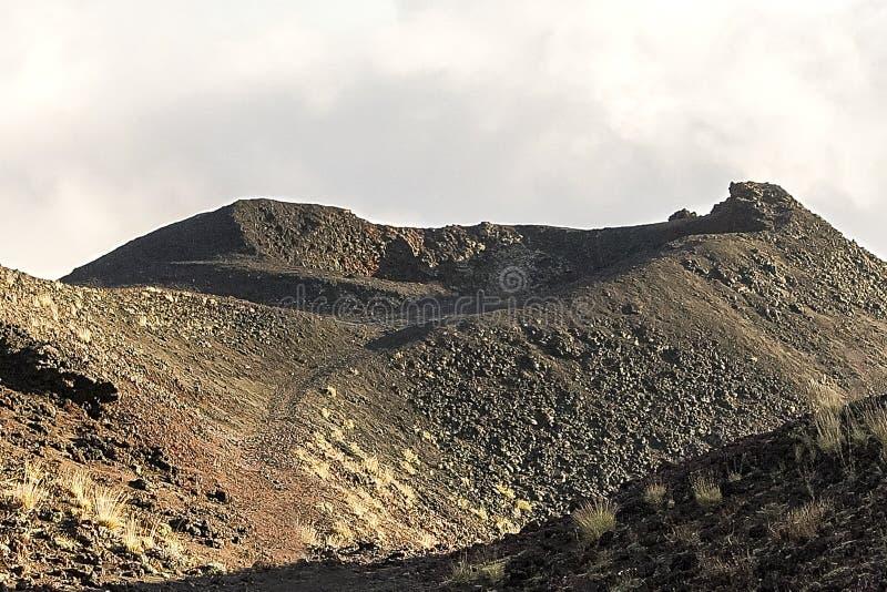 Vistas de los cr?teres del monte Etna en Randazzo, Catania imágenes de archivo libres de regalías