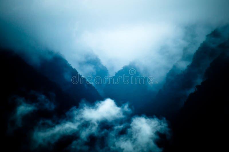 Vistas de Machu Picchu imagens de stock