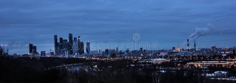 Vistas de Moscú imágenes de archivo libres de regalías