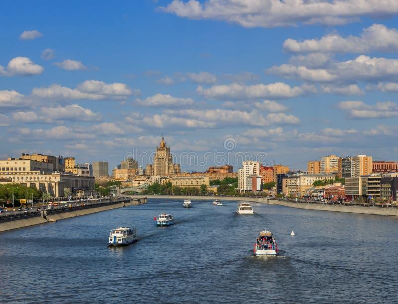 Vistas de Moscovo fotografia de stock
