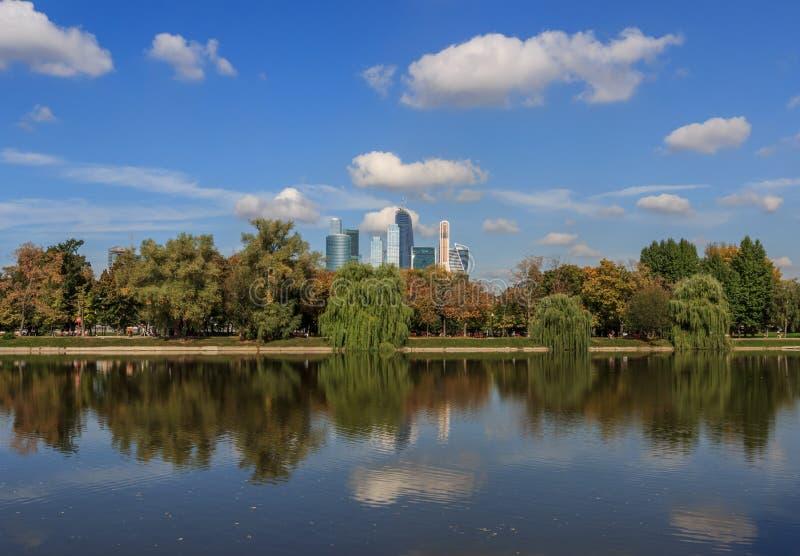 Vistas de Moscovo fotografia de stock royalty free