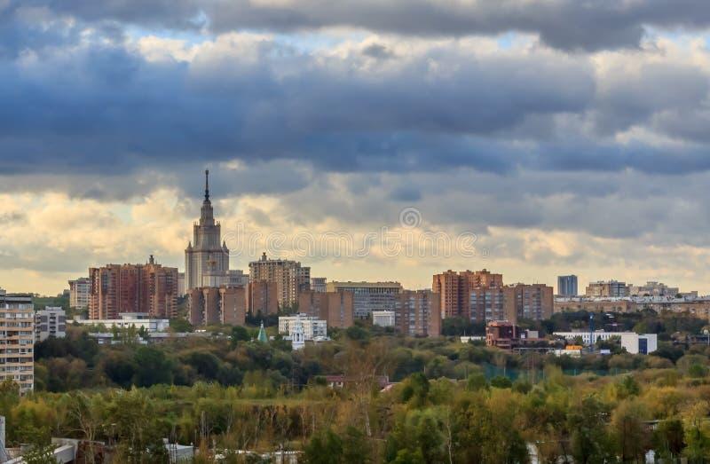 Vistas de Moscovo fotos de stock royalty free
