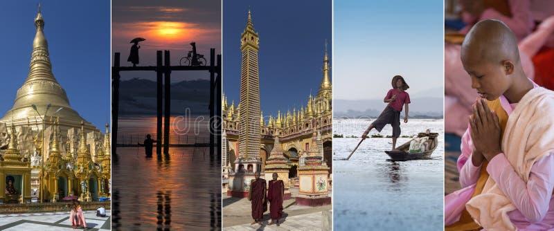 Vistas de Myanmar - Burma fotografia de stock royalty free