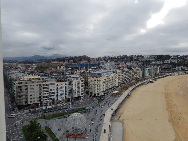 Vistas de San Sebastian imagen de archivo libre de regalías