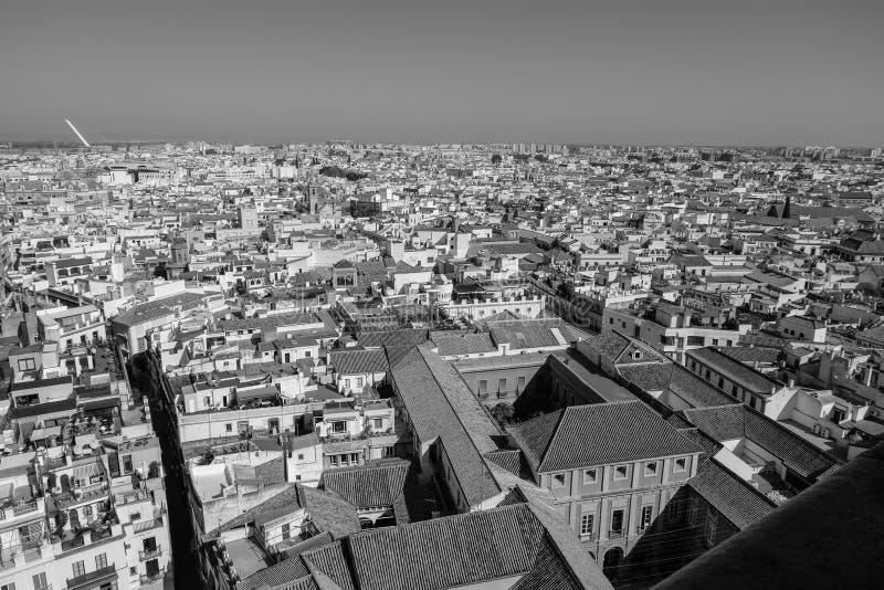 Vistas de Sevilla imágenes de archivo libres de regalías
