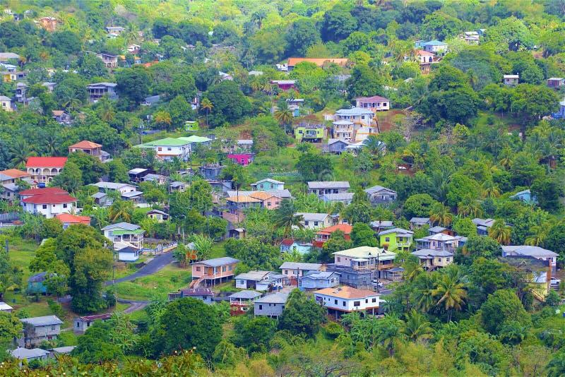 Vistas de St Vincent, el Caribe imagen de archivo libre de regalías
