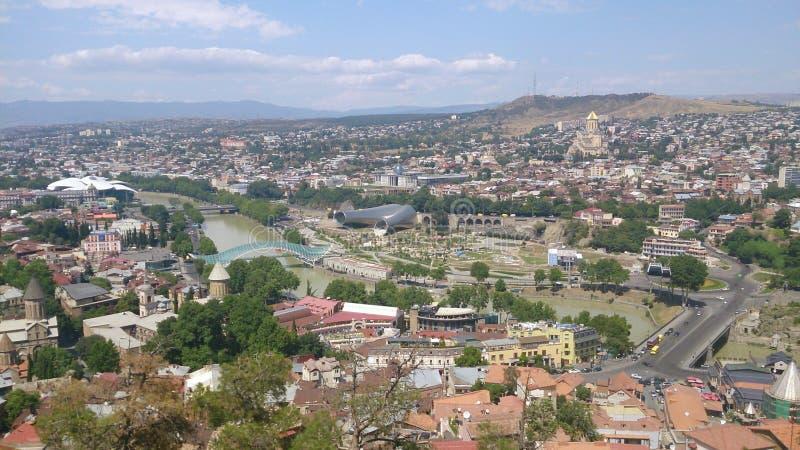 Vistas de Tbilisi foto de archivo libre de regalías