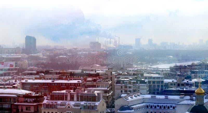 Vistas del centro de Moscú imágenes de archivo libres de regalías