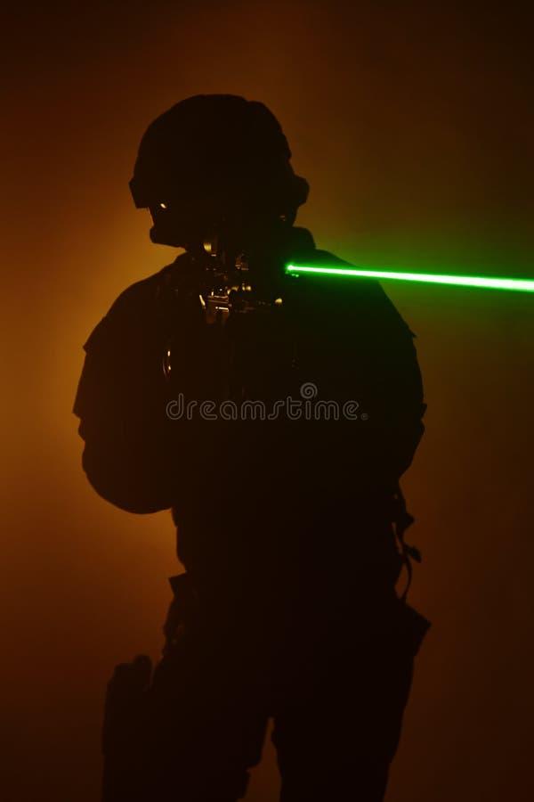 Vistas del laser fotos de archivo libres de regalías