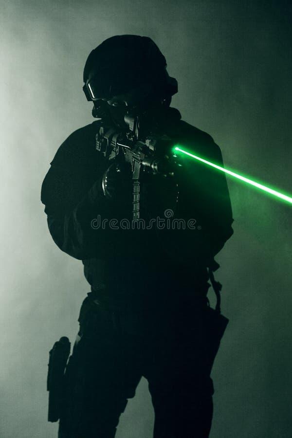 Vistas del laser imágenes de archivo libres de regalías