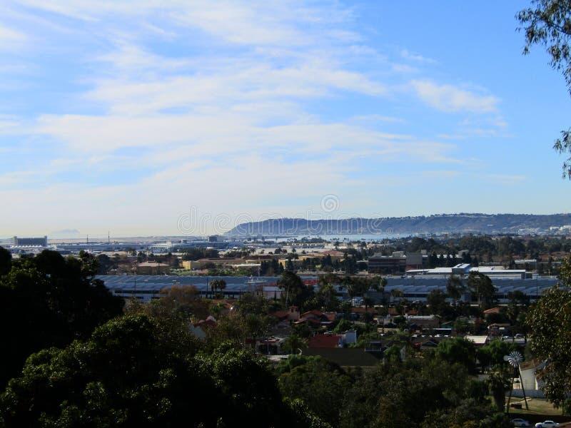 Vistas del punto Loma San Diego foto de archivo libre de regalías