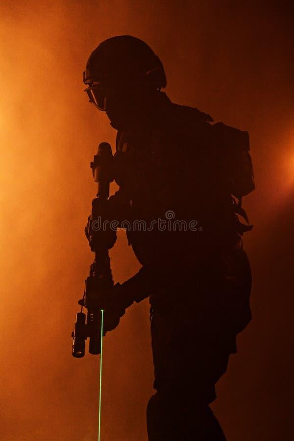 Vistas do laser fotos de stock royalty free