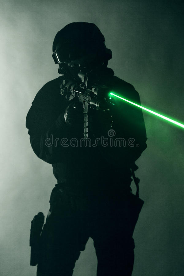 Vistas do laser imagens de stock royalty free