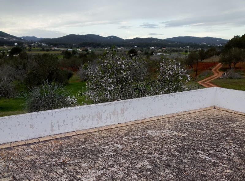 Vistas do telhado imagens de stock