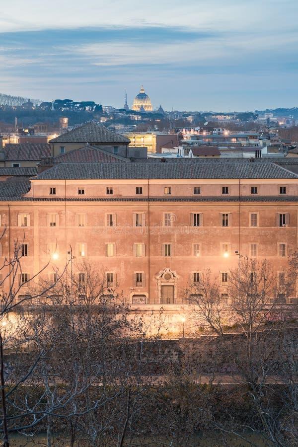 Vistas maravillosas de Roma fotografía de archivo