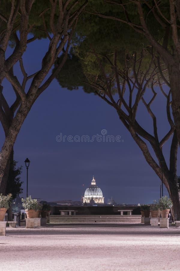 Vistas maravillosas de Roma fotografía de archivo libre de regalías
