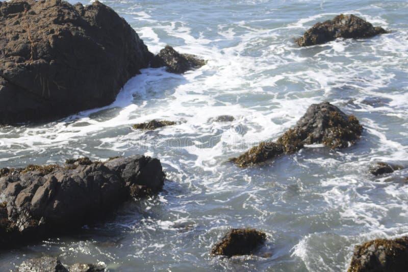 Vistas para o mar em Cambria, Califórnia imagem de stock royalty free