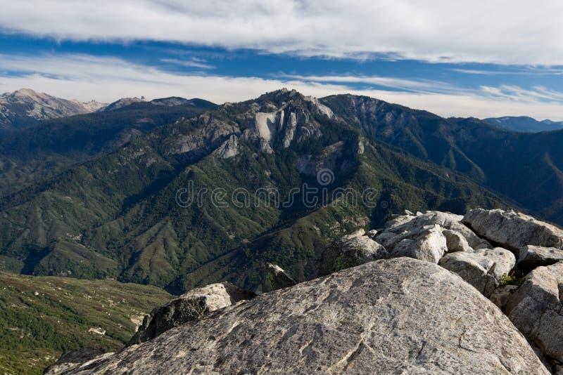 Viste dalla roccia del Moro fotografie stock libere da diritti