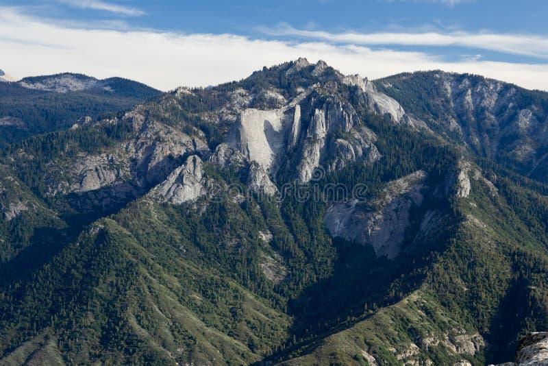 Viste dalla roccia del Moro immagini stock libere da diritti