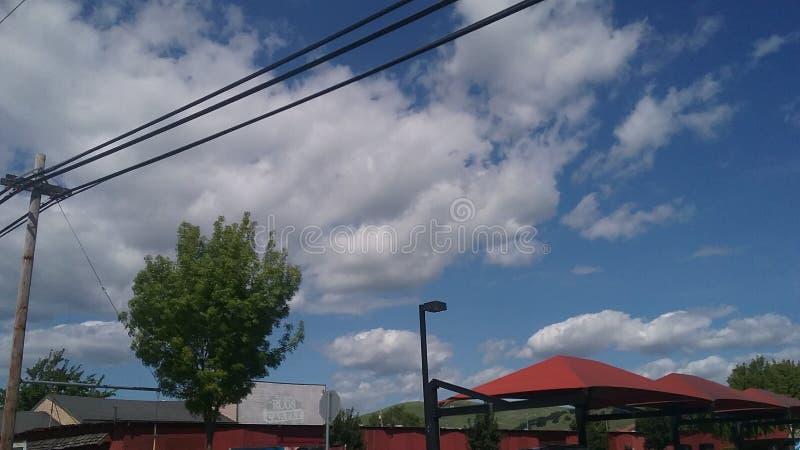 Viste del cielo fotografie stock libere da diritti