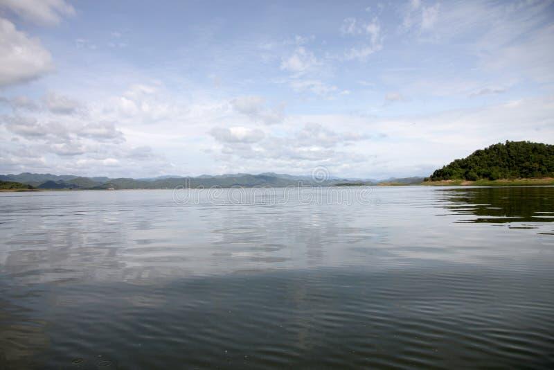 Viste del lago in Tailandia fotografia stock libera da diritti