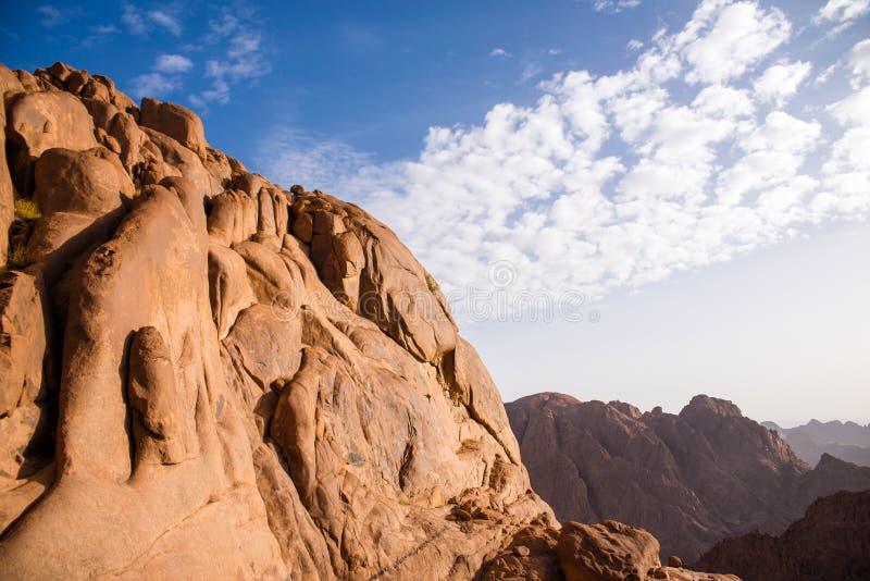 viste del monte Sinai fotografia stock libera da diritti