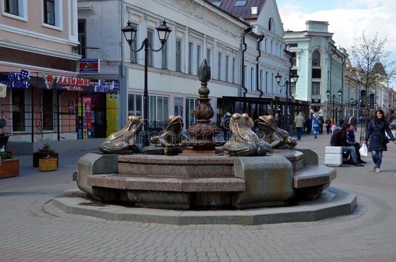 Viste della città di Kazan fotografia stock libera da diritti