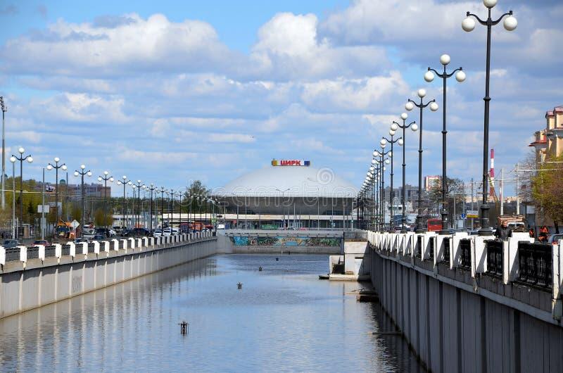 Viste della città di Kazan immagine stock libera da diritti