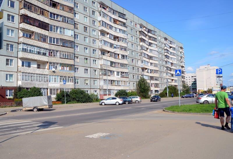 Viste della città di Vologda fotografia stock