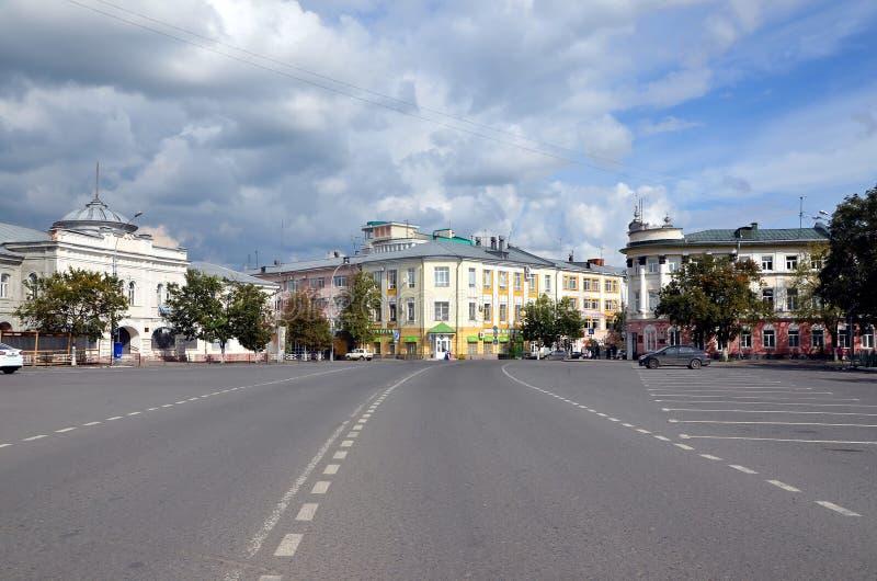 Viste della città di Vologda fotografie stock libere da diritti