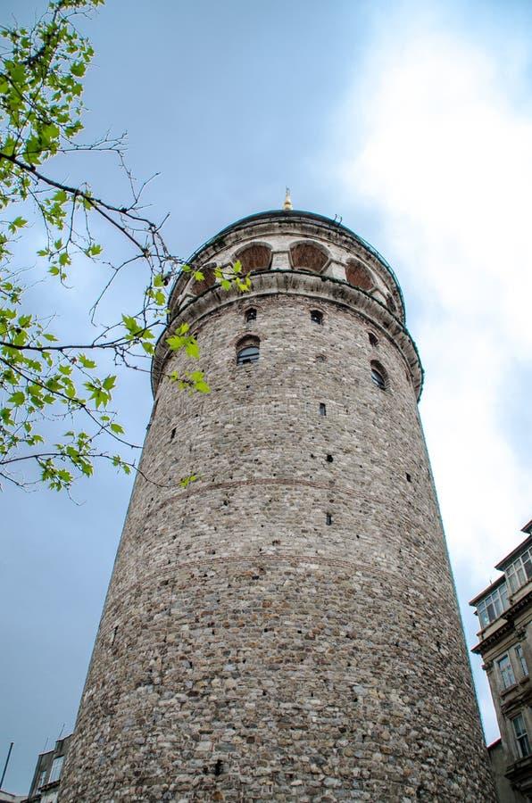 Viste di Costantinopoli Torretta di Galata immagini stock