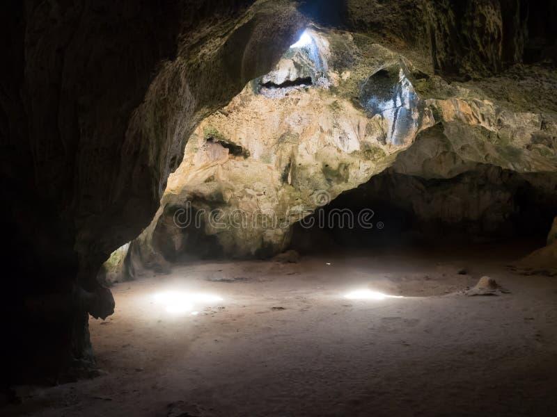 Viste intorno alle caverne di Guadirikiri fotografia stock libera da diritti