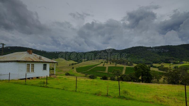 Viste intorno a Millfield e a Cessnock in Hunter Valley, NSW, Australia fotografia stock libera da diritti