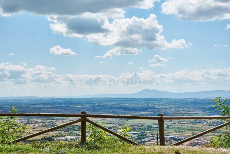 Viste preveggenti di Toscana immagine stock
