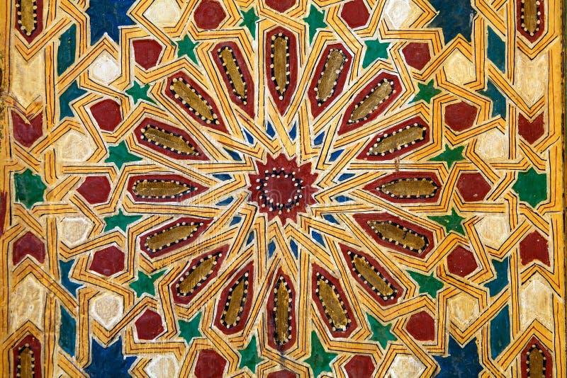 Visual pattern decoration royalty free stock image