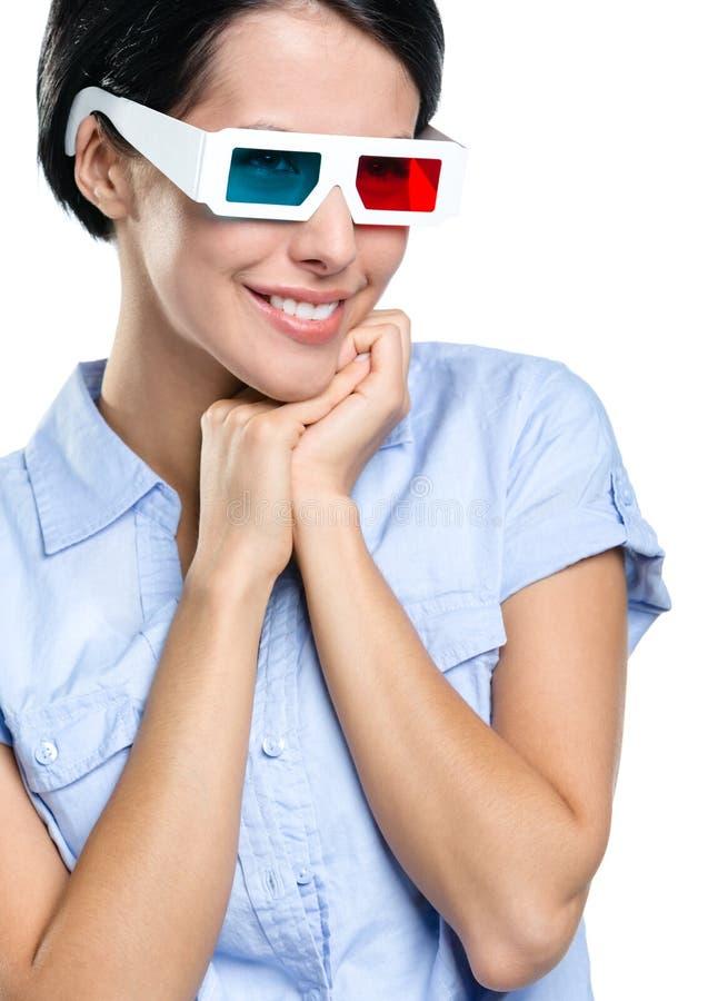 Visualisateur en glaces 3D images libres de droits