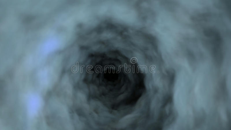 Visualização do tornado ilustração do vetor