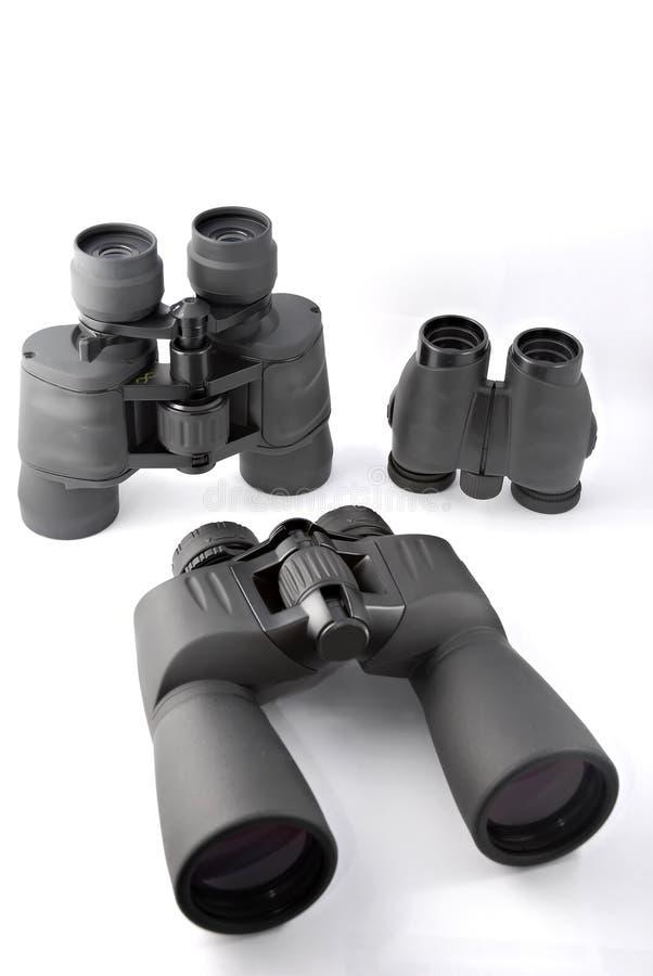 Visualización binocular imagen de archivo libre de regalías