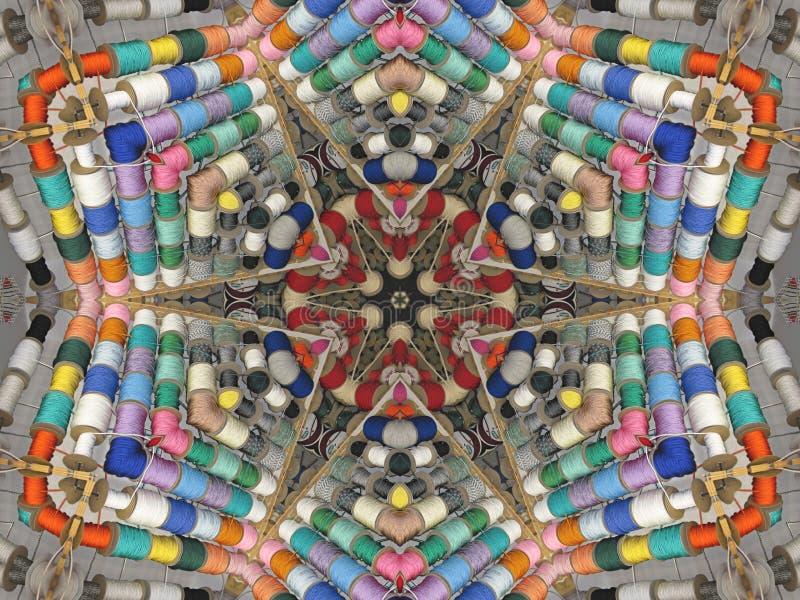 Download Visualización Caleidoscópica De La Cinta Foto de archivo - Imagen de colorido, estacional: 7280280