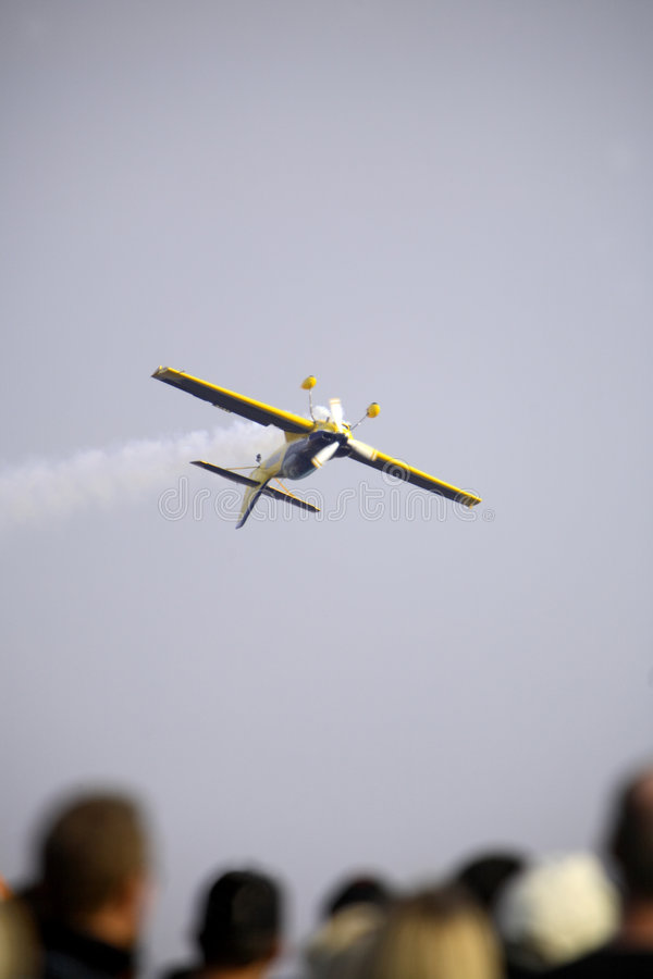 Visualización de Airshow imágenes de archivo libres de regalías