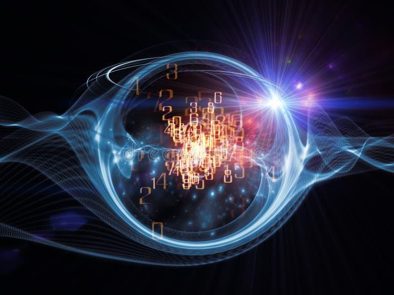 Visualización de la turbulencia fotos de archivo libres de regalías
