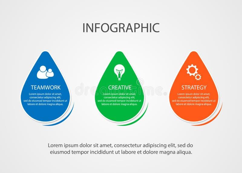 Visualización del logro de una idea del negocio stock de ilustración