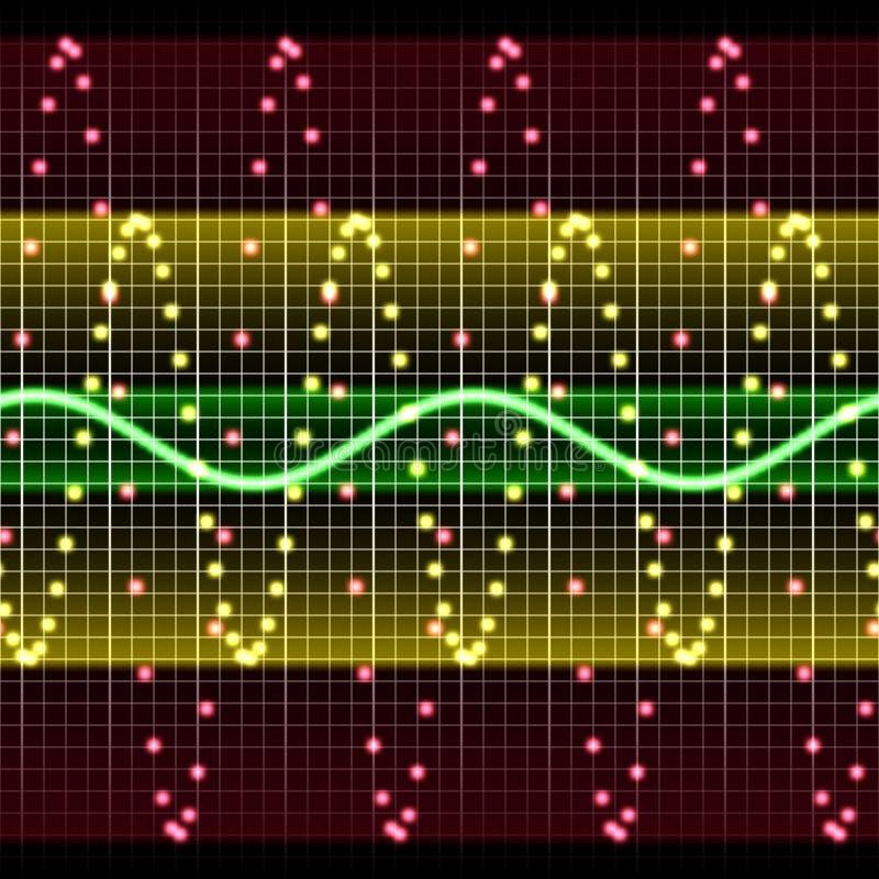Visualización electrónica libre illustration